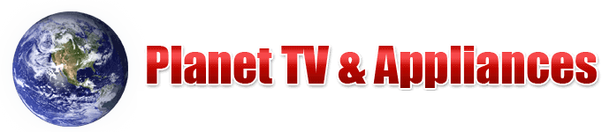 Planet TV & Appliances Logo